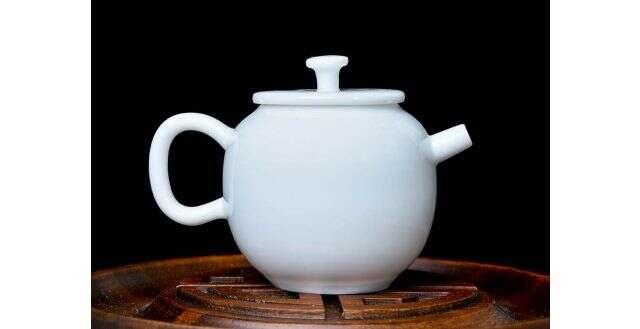Modern Porcelain Gongfu Teapot