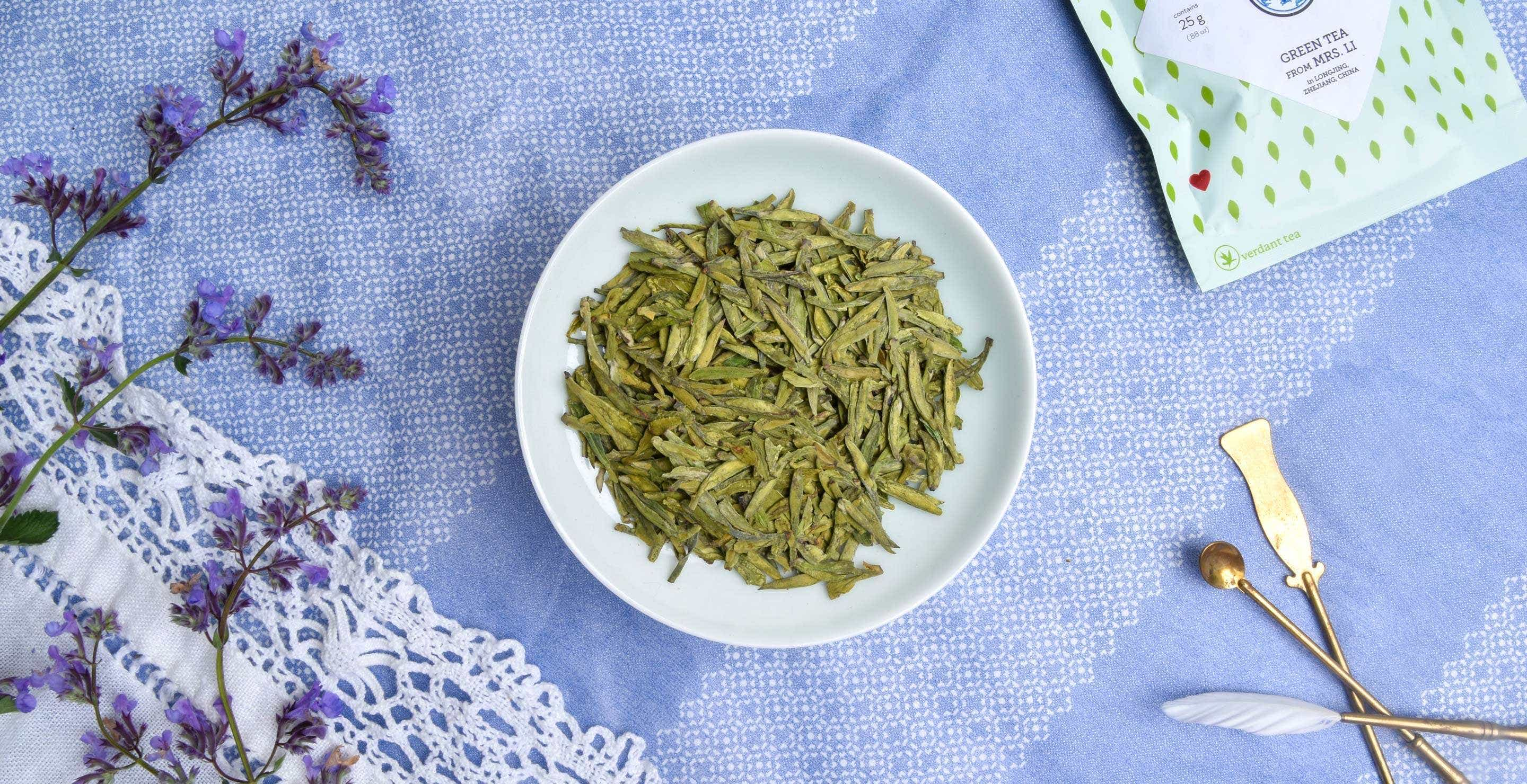 Exploring Minerality with Dragonwell Tea