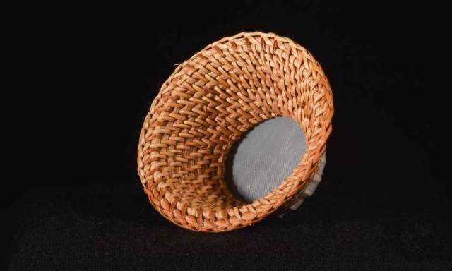 Hand Woven Bamboo Strainer