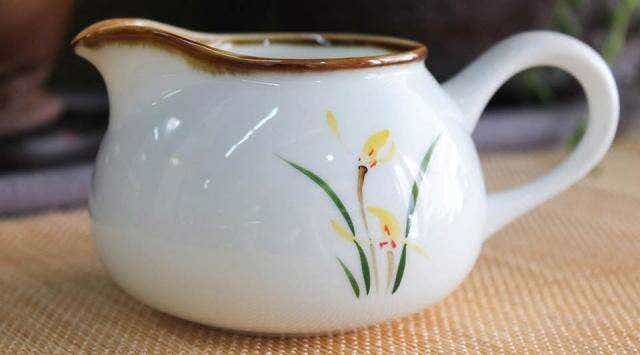 Yellow Iris Pitcher