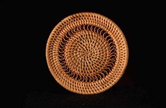 Woven Bamboo Rattan Coaster
