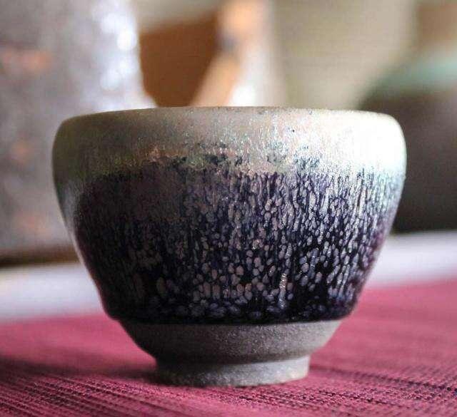 Small Jian Zhan Blue You Di Cup