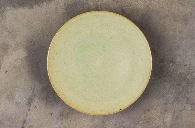 Green Ceramic Stand