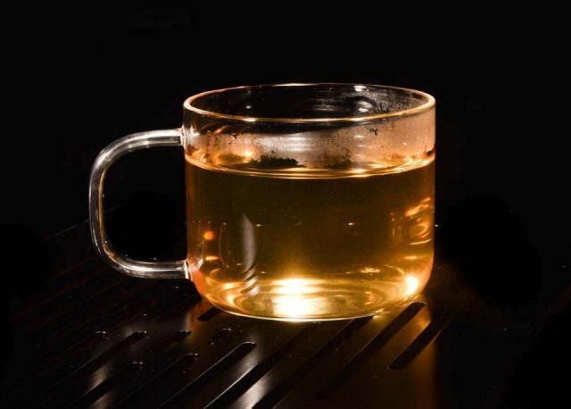 Mini Mug Glass Tea Cups (Set of 2)