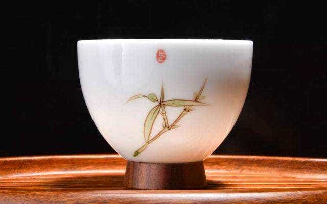 Bamboo and Hardwood Tea Cup