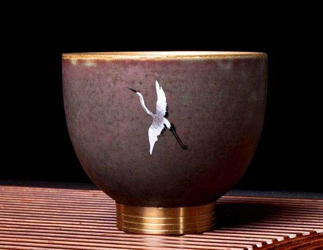 Crane Tea Cup