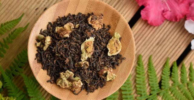 2018 Qianjiazhai Tea Flower Gong Ting Shu