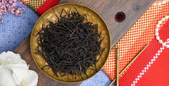Special Grade Laoshan Gongfu Black