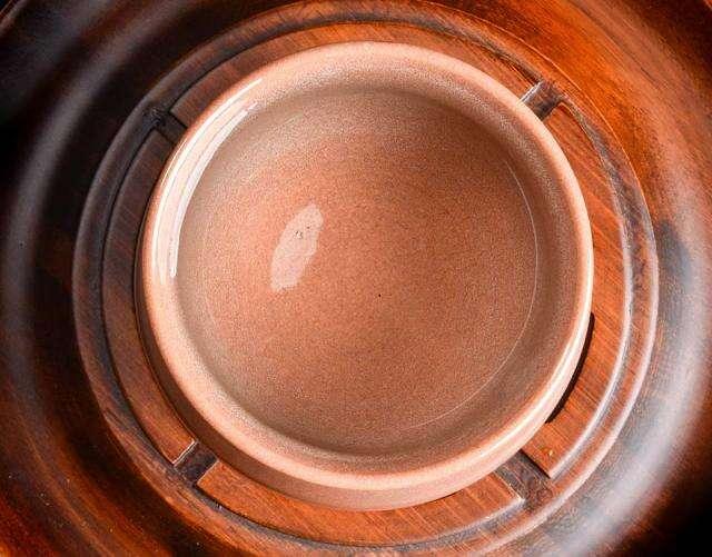 Orange Celadon Inspiration: Shui Ji Jian Zhan Cup