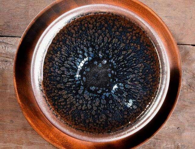 Oil Spot Dian Cha Ceremony Jian Zhan Tea Bowl