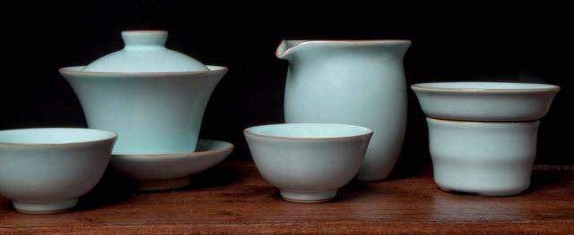 Ru Glaze Tea Set