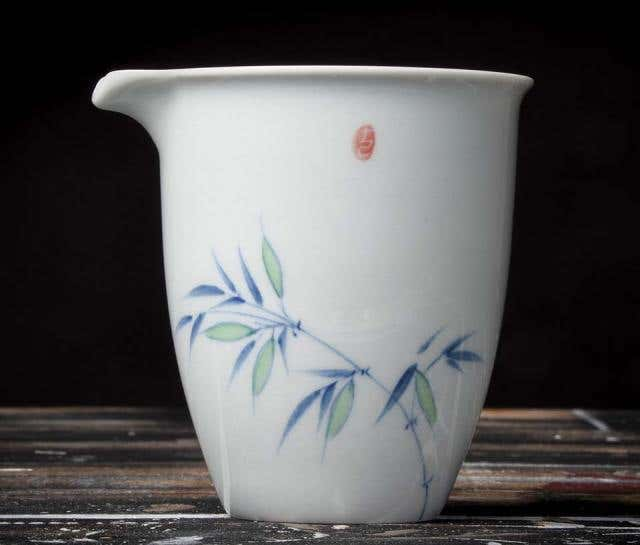 Spring Bamboo Pitcher