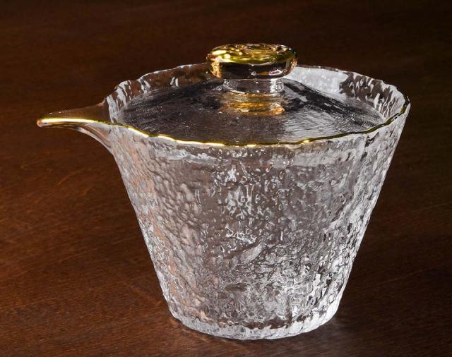 Rippling Ice Glass Gaiwan