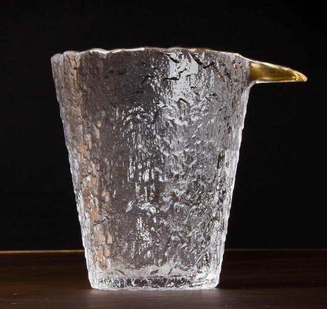 Rippling Ice Glass Pitcher