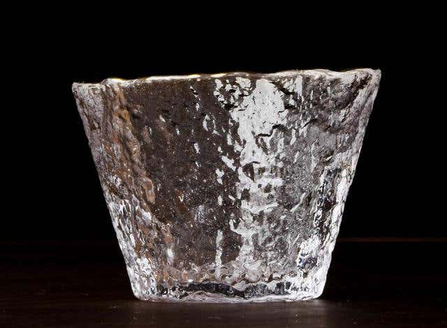 Rippling Ice Glass Cup