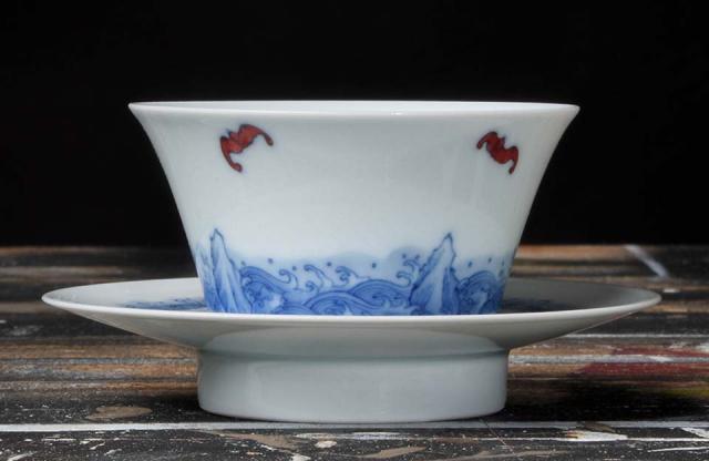 Jingdezhen Ocean Cup & Saucer