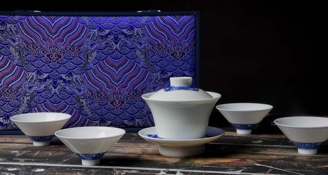 Jingdezhen Ruyi Tea Set