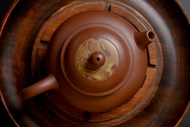 """Swirled Di Cao Qing Ni """"Piao Xiang"""" Yixing"""