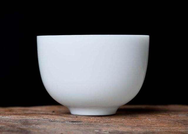 White Porcelain Tasting Cup
