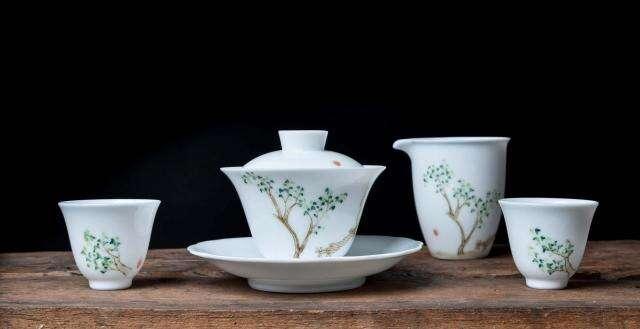 Scholarly Porcelain Tea Set
