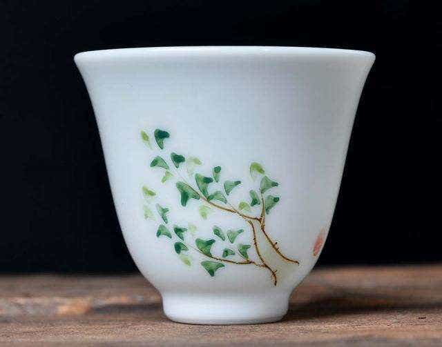 Scholarly Painted Cup