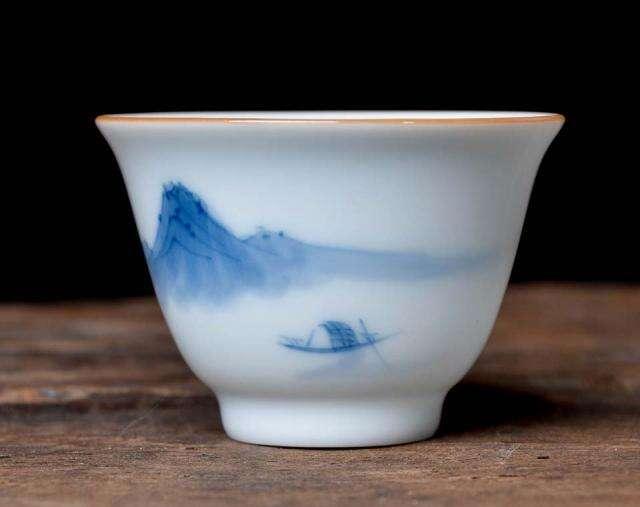Misty Mountain Landscape Cup