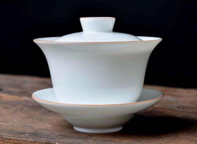 Banded Porcelain Gaiwan