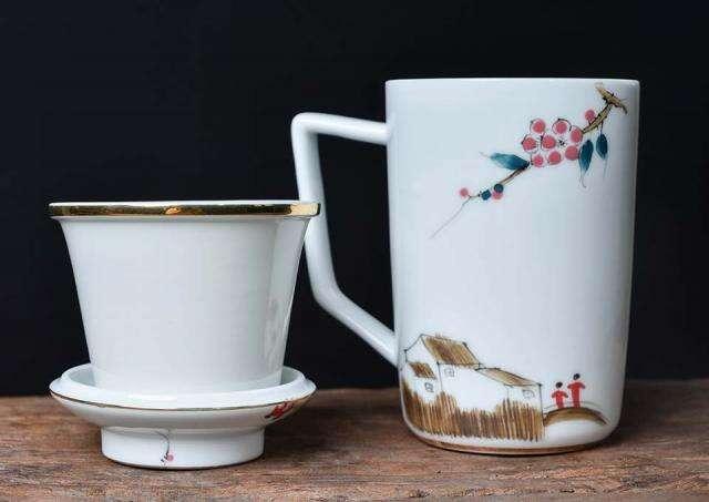 Hand Painted Brew Mug