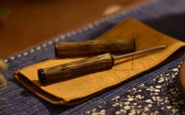 Mottled Bamboo Pu'er Pick