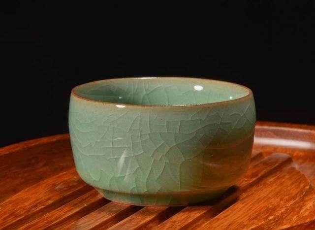 Celadon Tea Cups (Set of 2)