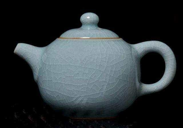 Blue Celadon Tea Pot