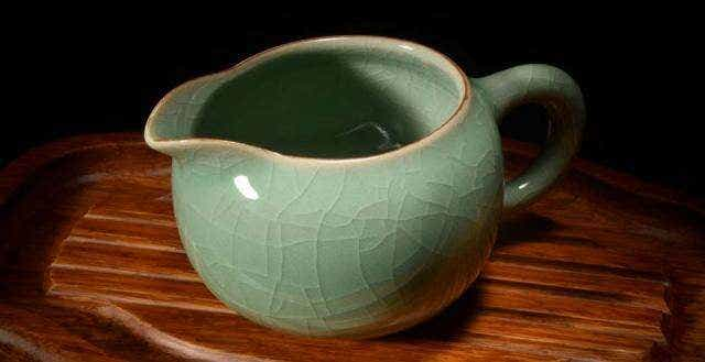 Traditional Celadon Pitcher