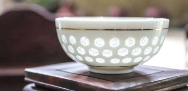 Glass Window Bowl Cup
