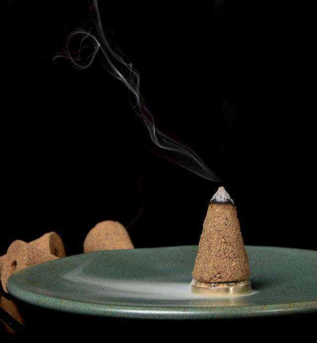 Manzhaya Hand-Crafted Reserve Incense Cone