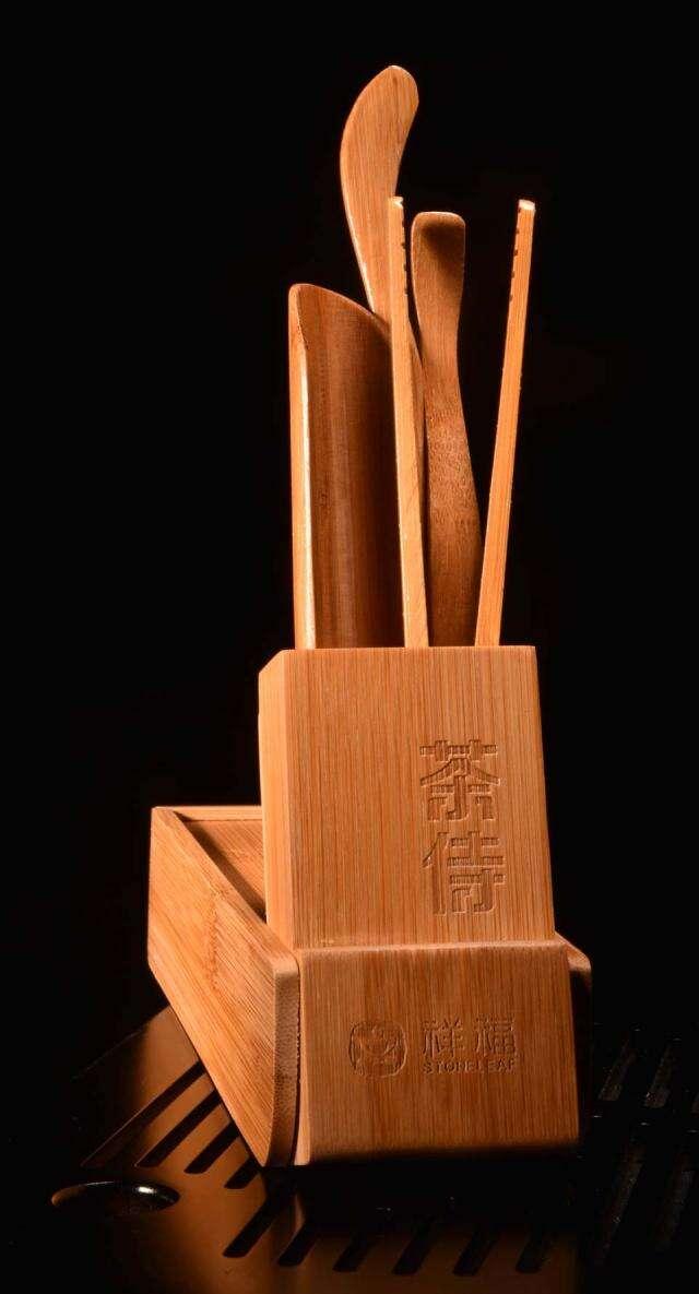 Bamboo Tea Tool Travel Set