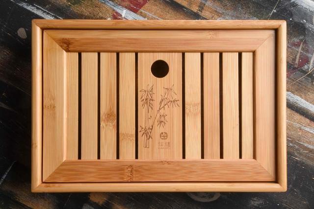 Small Bamboo Tea Tray