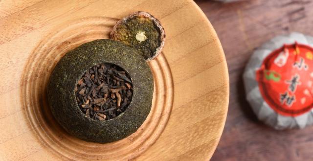 Shu Pu'er Stuffed Mandarin