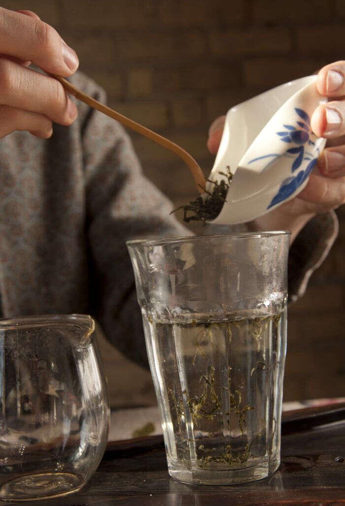 Brewing Jingshan Green