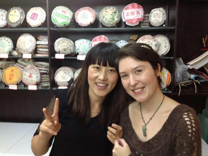 Lily and Wang Yanxin