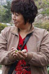 Mrs. He of Laoshan Village