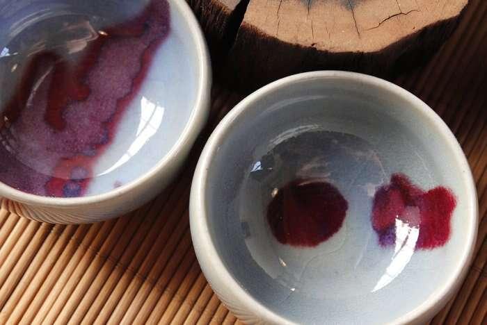 Song Style Jun Glaze Tea Cups