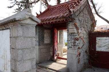 Laoshan Temple Interior Courtyard