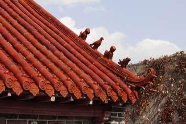 Laoshan Temple Architectural Ornaments