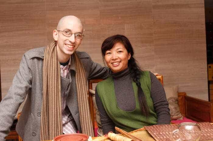 David Duckler and Wang Huimin