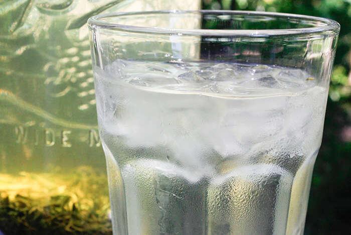 Iced Laoshan Green Tea