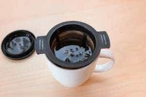 brew basket in mug