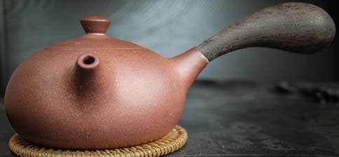 Wang Ying Stout Wooden Handle Zini Yixing