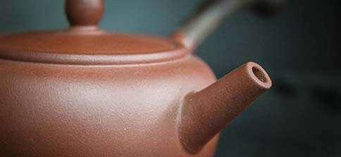 Wang Ying Wooden Handle Zini Flat Top Yixing