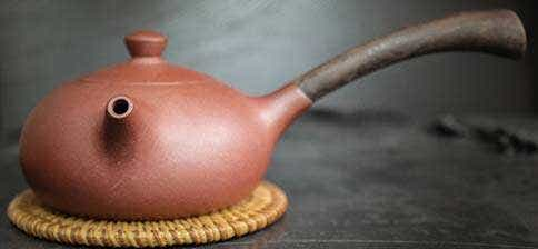 Wang Ying Wooden Handle Zini Yixing