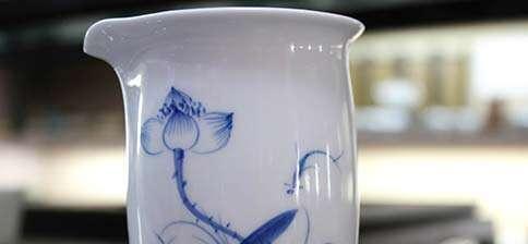 Jingdezhen Blue Lotus Pitcher